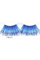 You Get 6 Pairs - Extra Long Eyelashes Bk.Tblu