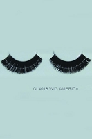You Get 6 Pairs - GLITTER EYELASH #1909G-4018