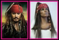 "Johnny Depp as Jack Sparrow from ""Pirates of the Caribbean"""