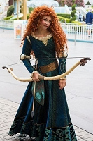 Princess Merida Brave Movie High Fashion G-1000 Wig