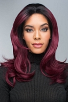 red carpet lace front mono part wig
