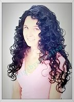 Spring Lace Front Heat Resistant Wig in Off Black - Only One Left!