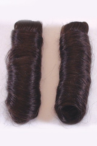 Human Hair Pair Of Pigtails