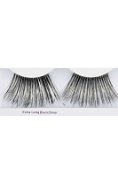 You Get 6 Pairs - Extra Long Eyelashes Bk.Sil