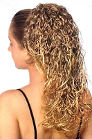 Crimpy Curls Instant Ponytail