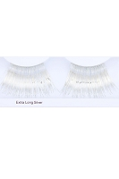 You Get 6 Pairs - Extra Long Eyelashes Silver
