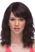 SONNET Human Hair Wig in Natural Black