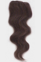 Human Hair Wavy Clip In Hair- 8 inches.