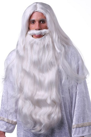 WIZARD WIG & BEARD